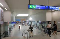 Índia subterrânea de Nova Deli do metro do metro Fotografia de Stock Royalty Free