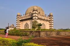 Índia, túmulo de Bijapur foto de stock royalty free