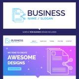 Índice bonito da marca do conceito do negócio, arquivos, compartilhando, s ilustração stock