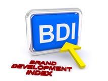 Índice de desarrollo de marca libre illustration