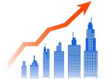 Índice de las propiedades inmobiliarias stock de ilustración