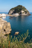 Ísquios Italia da vila de Sant Angelo Foto de Stock