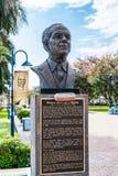 Άγαλμα/γλυπτό του τζαμαϊκανού εθνικού ήρωα νορμανδικό Manley στοκ φωτογραφία με δικαίωμα ελεύθερης χρήσης