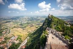 Άγιος Μαρίνος, Ιταλία στοκ φωτογραφίες