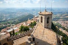 Άγιος Μαρίνος, Ιταλία στοκ φωτογραφία