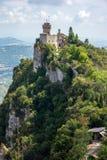 Άγιος Μαρίνος, Ιταλία στοκ εικόνες