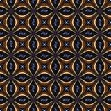 Άνευ ραφής αφηρημένοι γεωμετρικοί κρότωνες διακοσμήσεων στοκ φωτογραφία