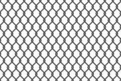 Άνευ ραφής σχέδιο πλέγματος καλωδίων μετάλλων διανυσματική απεικόνιση