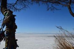 Άνοιξη στη λίμνη Baikal στη Σιβηρία στοκ εικόνες