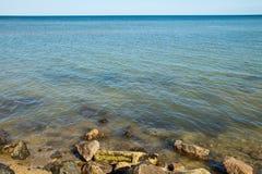 Άποψη σχετικά με τη Azov θάλασσα στοκ εικόνες με δικαίωμα ελεύθερης χρήσης