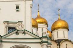 Άποψη του μουσείου της Μόσχας Κρεμλίνο, Μόσχα, Ρωσία στοκ φωτογραφία