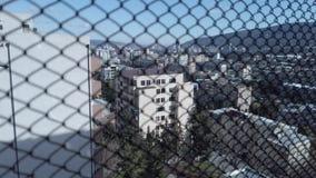 Άποψη του Tbilisi πίσω από το κύτταρο φιλμ μικρού μήκους
