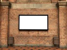 Ένας κενός πίνακας διαφημίσεων στοκ φωτογραφία με δικαίωμα ελεύθερης χρήσης