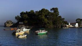 Ένας όμορφος παράδεισος στο χωριό της Ελλάδας Πάργα στοκ εικόνες με δικαίωμα ελεύθερης χρήσης