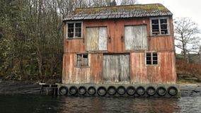 Ένα σπίτι των βαμπίρ, ένα σπίτι των αυταπατών και των παθών Νορβηγία στοκ εικόνες με δικαίωμα ελεύθερης χρήσης