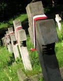 Ένα πολωνικό νεκροταφείο σε Vilnius, Λιθουανία - ΛΙΘΟΥΑΝΙΑ στοκ εικόνες