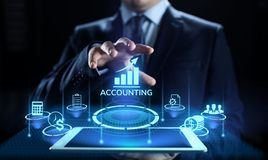 Έννοια επιχειρησιακής χρηματοδότησης τραπεζικού υπολογισμού λογιστικής λογιστικής στοκ φωτογραφίες