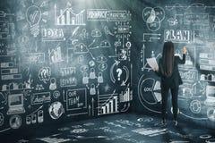 Έννοια ιδέας και επιτυχίας απεικόνιση αποθεμάτων