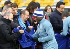 Ένωση UEFA Ευρώπη Δυναμό Kyiv β Chelsea Κατάρτιση προ-αντιστοιχιών στοκ φωτογραφία