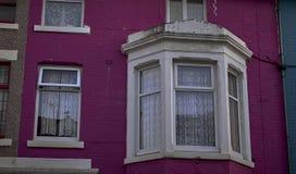 αγγλικά σπίτια χαρακτηρι&si στοκ φωτογραφίες