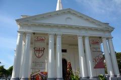 Αγγλικανικός καθεδρικός ναός του ST George, Τζωρτζτάουν, Penang, Μαλαισία στοκ εικόνες
