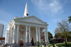 Αγγλικανικός καθεδρικός ναός του ST George, Τζωρτζτάουν, Penang, Μαλαισία στοκ εικόνα με δικαίωμα ελεύθερης χρήσης