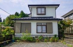 Αγροτικό σπίτι σε Matsushima, Ιαπωνία στοκ εικόνες