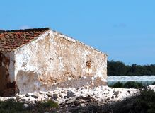 Αλατισμένα αγροκτήματα κοντά στο Ταβίρα Πορτογαλία στοκ φωτογραφίες με δικαίωμα ελεύθερης χρήσης