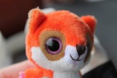Αλεπού plushie στοκ φωτογραφία