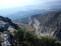 Αναβαση στο βουνο stock image