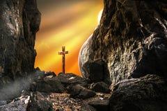 αναζοωγόνηση Χριστού Ιησούς απεικόνιση αποθεμάτων
