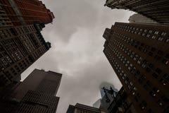 ανατρέχοντας ουρανοξύστες στοκ φωτογραφία με δικαίωμα ελεύθερης χρήσης