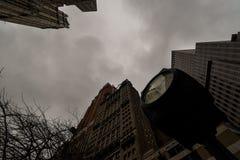 ανατρέχοντας ουρανοξύστες στοκ εικόνες με δικαίωμα ελεύθερης χρήσης