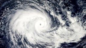 Ανεμοστρόβιλος θύελλας τυφώνα, δορυφορική άποψη Στοιχεία αυτής της εικόνας που εφοδιάζεται από τη NASA απεικόνιση αποθεμάτων