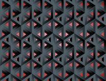Αδύνατοι isometric τρισδιάστατοι κοίλοι κύβοι αριθμών απεικόνιση αποθεμάτων