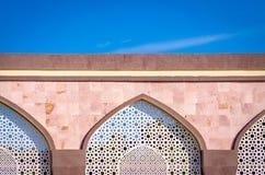 Αραβική αρχιτεκτονική και μπλε ουρανός στοκ εικόνες με δικαίωμα ελεύθερης χρήσης