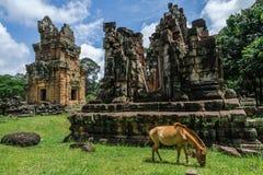 Αρχαίοι πύργοι Suor Prat Prasats στοκ εικόνες
