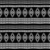 αρχαίο maya φυλετικό εθνικό άνευ ραφής σχέδιο με τη γραπτή διανυσματική απεικόνιση χρώματος για τυπωμένη ύλη και το τύλιγμα μόδας απεικόνιση αποθεμάτων