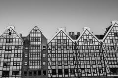 Αρχιτεκτονική ενός σύγχρονου κτηρίου στοκ εικόνες
