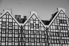 Αρχιτεκτονική ενός σύγχρονου κτηρίου στοκ εικόνα