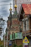 Αρχιτεκτονική σε Petergof στοκ εικόνα