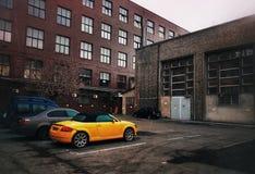 Αστικός - παλαιά εργοστάσια στοκ εικόνες