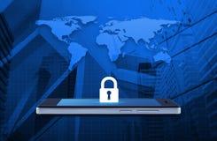 Ασφάλεια επιχειρησιακού Διαδικτύου και σε απευθείας σύνδεση έννοια ασφάλειας, στοιχεία αυτής της εικόνας που εφοδιάζεται από τη N στοκ φωτογραφίες