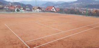 Ατελές γήπεδο αντισφαίρισης στοκ εικόνες
