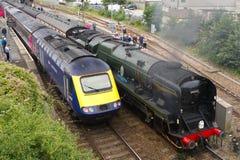 Ατμομηχανή ατμού και diesel 125 στοκ φωτογραφίες με δικαίωμα ελεύθερης χρήσης