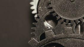 Αφηρημένα βιομηχανικά εργαλεία ρολογιών Grunge σκουριασμένα μεταλλικά φιλμ μικρού μήκους