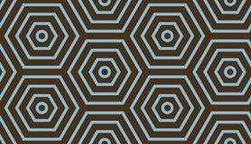 αφηρημένη ανασκόπηση γεωμ&epsil Μπλε και καφετιά χρώματα στοκ εικόνα