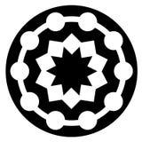 αφηρημένη γεωμετρική αρχαία μορφή λογότυπων που απομονώνεται διανυσματική απεικόνιση