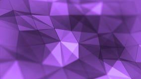 Αφηρημένος βρόχος υποβάθρου τριγώνων γεωμετρικός πορφυρός απεικόνιση αποθεμάτων