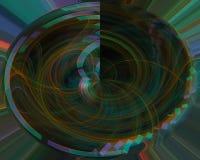 Αφηρημένος fractal μαγικός δυναμικός δίνει την επιστήμη δημιουργικότητας κυμάτων τη δονούμενη φαντασία διακοσμήσεων σκηνικού, πρό απεικόνιση αποθεμάτων